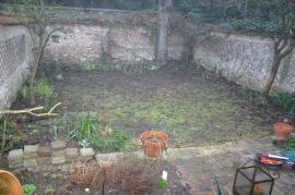 Jardin à Chevreuse avant